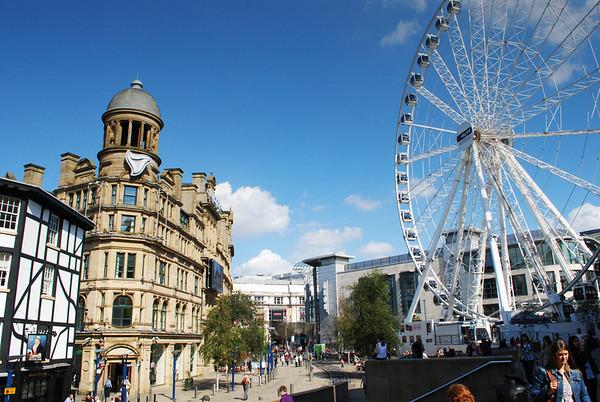 Manchester England LGBT Press Trip, August 2011